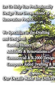 Let us help you professionally design your dream home or renovation project